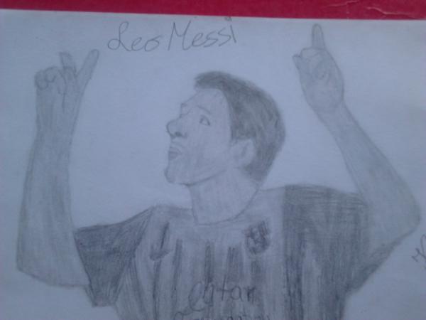 Lionel Messi por dzima24